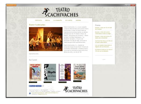 Drupal web site for a Theatre company